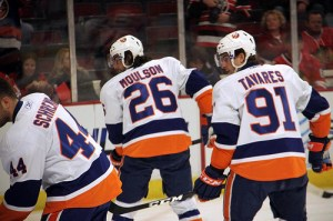 Matt Moulson and John Tavares have been long time friends before either one of them made it to the NHL (HockeyBroad/Flickr)
