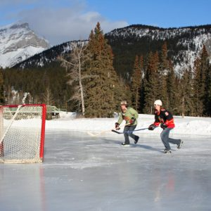 Pond Hockey Banff
