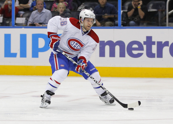 Where have you gone David Desharnais? Habs nation turns its lonely eyes on you, hoo hoo hoo. (Icon SMI)