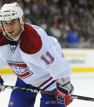 Scott Gomez Canadiens