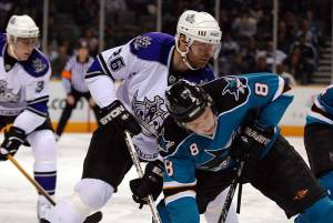 San Jose and Los Angeles square off in the first round of Stanley Cup Playoffs (SharksPage.com)