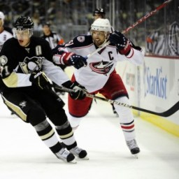 Rick Nash Evgeni Malkin Penguins Blue Jackets