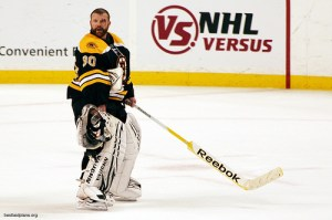 The Philadelphia Flyers don't need a goalie with an agenda, which would be the case with Tim Thomas.