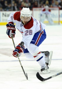 Josh Gorges could be Captain of the Canadiens one day. (Icon SMI)