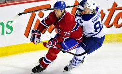 Canadiens trade D Hal Gill to the Predators for a 2nd round pick and Blake Geoffrion