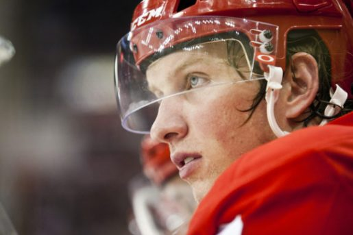 Justin Abdelkader Red Wings
