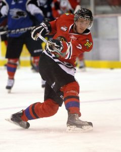 Joseph Morrow can be an impact player for the Stars in the future (Aaron Bell/CHL Images)
