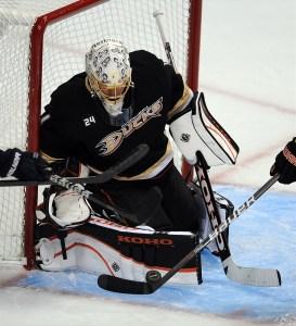 Jonas Hiller, Anaheim Ducks, NHL, Hockey, NHL Playoffs, Tape2Tape
