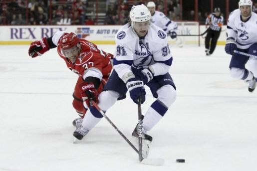 Tampa Bay Lightning Steven Stamkos / Carolina Hurricane Tim Brent