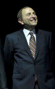 NHL Commissioner Gary Bettman (cr: VancityAllie@flickr)