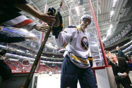 Buffalo Sabre Tyler Myers - Photo by Andy Martin Jr