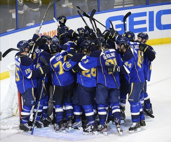 St. Louis Blues beat San Jose 2012