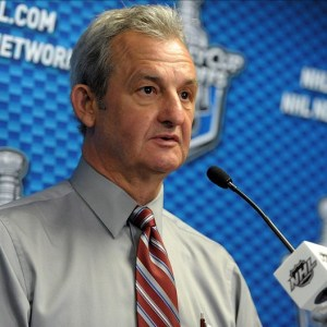 Los Angeles Kings head coach Darryl Sutter