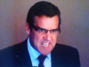 GM George McPhee seethes as the Caps lose in Game 7 (@matt71royer)
