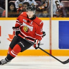 Jarrod Maidens was chosen 82nd overall by the Ottawa Senators.  (OHL Images)