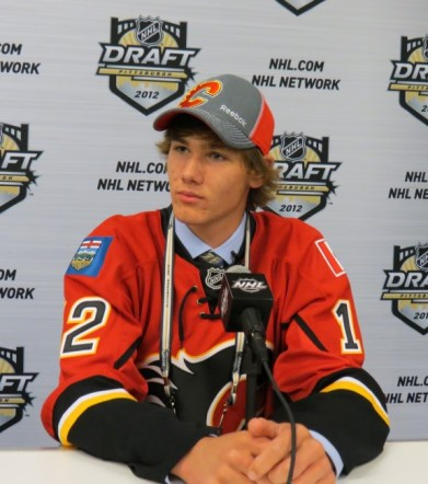 Is Mark Jankowski the eventual franchise centerman the Calgary Flames have sorely lacked? (Lisa McRitchie/Kukla's Korner)