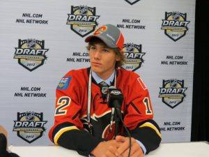 Flames 2011 first round pick Mark Jankowski (Lisa McRitchie/Kukla's Korner)