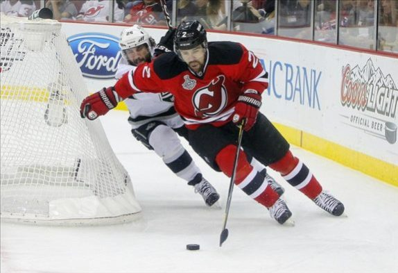Marek Zidlicky leads the Devils in PP goals with seven. (Jim O'Connor-US PRESSWIRE)