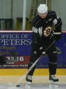 Jared Knight at the Boston Bruins 2012 Development Camp. (Photo: Amanda Mand)