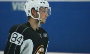 Ryan Spooner at the Boston Bruins 2012 Development Camp. (Photo: Amanda Mand)