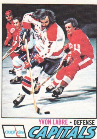 Yvon Labre, Capitals Defenseman