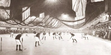 ice rink for hockey