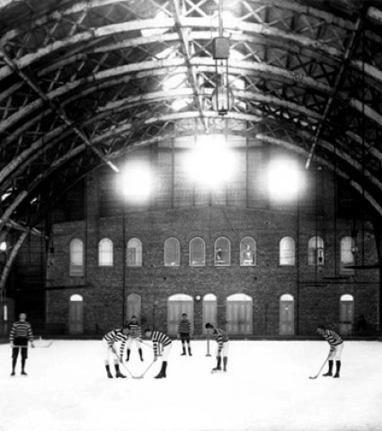 hockey at Victoria Rink in Montreal