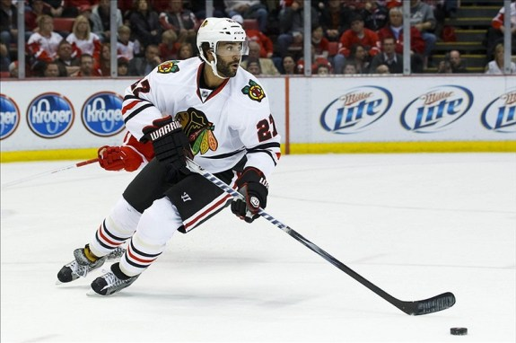 Johnny Oduya Chicago Blackhawks