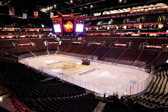Venues such as Florida's BB&T Center may find themseleves filled with new fans very soon. (Brad Barr-US PRESSWIRE)