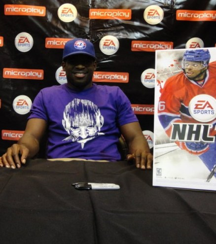 P.K. Subban EA Sports NHL 13 launch