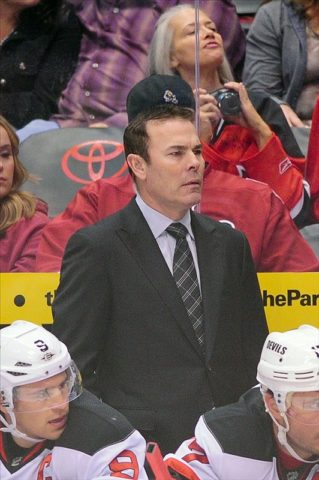 Adam Oates has the Caps moving in the right direction. In theory. (Matt Kartozian-US PRESSWIRE)
