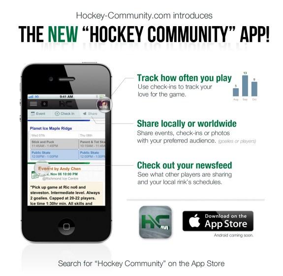 hockey community app