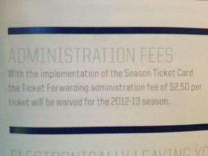 Winnipeg Jets Season Ticket Booklet