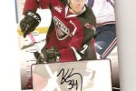 Kale Kessy autograph from Heroes and Prospects