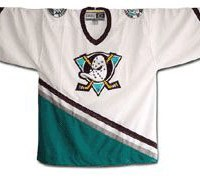 old ducks nhl jersey