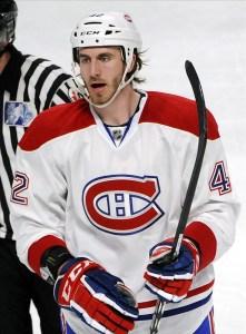 Montreal Canadiens defenseman Jarred Tinordi