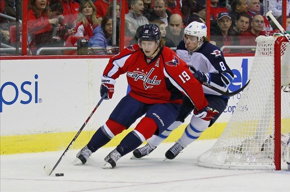 Nicklas Backstrom (Geoff Burke-USA TODAY Sports)