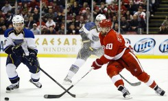 Playoff Run Only the Beginning for Rebuilding Wings
