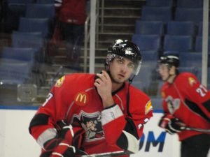 Brennan has represented many teams in the past few years, one of them being the Portland Pirates