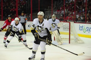 It's difficult to imagine Orpik in anything but black and gold. (Tom Turk/THW)