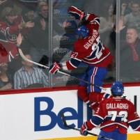 Galchenyuk is producing despite the lack of PP time (Credit: Jean-Yves Ahern-USA TODAY Sports)