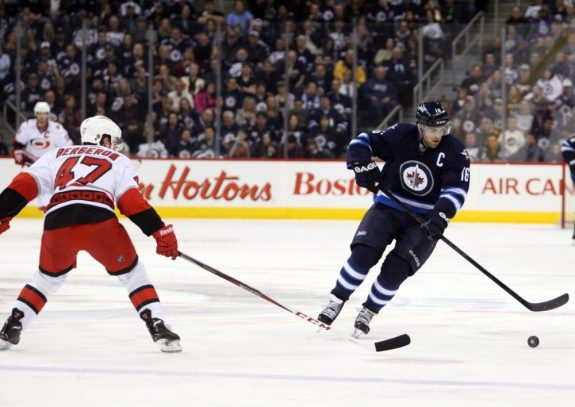 Andrew Ladd of the Winnipeg Jets will return as a free agent.