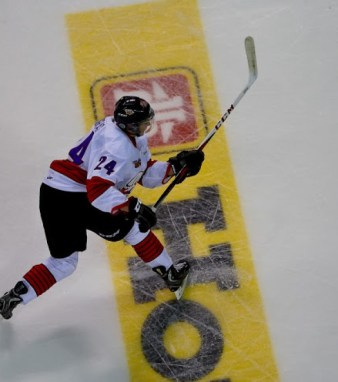 Chris Bigras  at the Top Prospects Game [photo: David Chan]