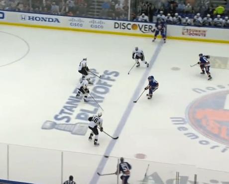Penguins Penalty Kill vs Islanders