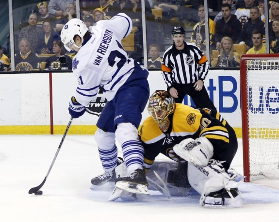 Toronto Maple Leafs, Boston Bruins, Tuukka Rask, James van Riemsdyk