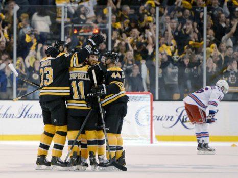 Boston Bruins Early Success