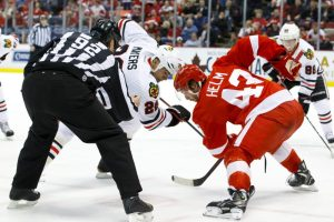 After 16 NHL seasons, Mayers finally won the ultimate prize in hockey. (Rick Osentoski-USA TODAY Sports)