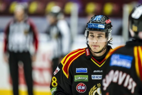 Elias Lindholm (photo by Jan Buler / courtesy Brynäs IF)