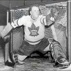 "Hockey Hall of Fame goaltender and 5 Time Stanley Cup Champion Walter ""Turk"" Broda."