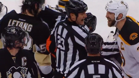 Crosby Confronts Chara (CC/Flickr)